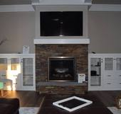 Hartwood Homes Fireplace