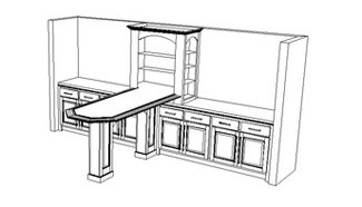 Cabinet Design and Drafting Services